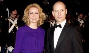 Helle Thorning-Schmidt and husband Stephen Kinnock